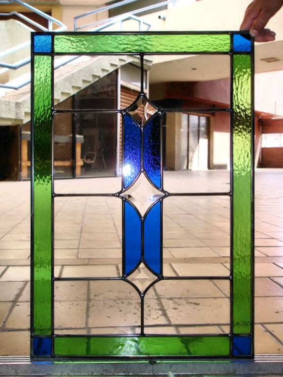 Stained Glass Kitchen Cabinet Door