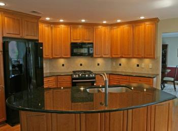 Leaded Glass Kitchen Cabinets - Cabinet Glass - Decorative Etched