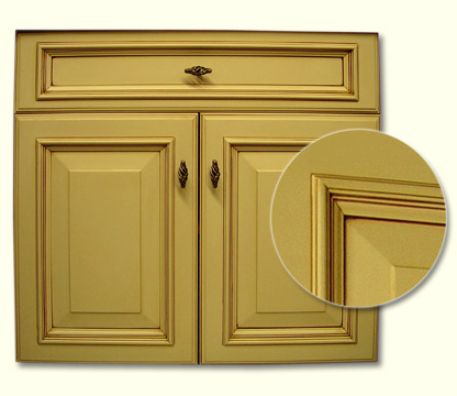 Cabinet Doors on The Process Of Glazing Kitchen Cabinet Doors   Cabinet Doors Kitchen