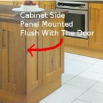 Cabinet End Panel Installation