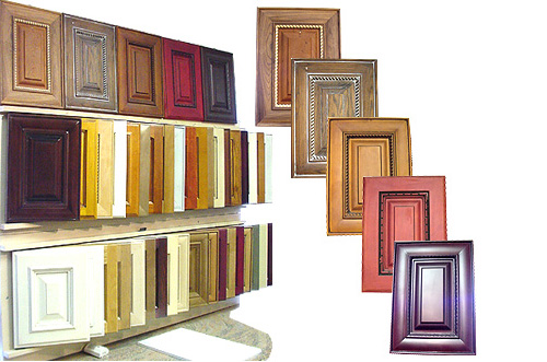 Colorful Cabinet Doors