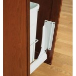 Installing Door Mounted Pull-out Trash