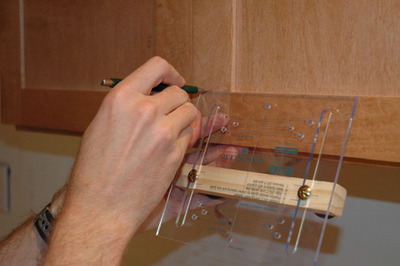 Drilling For Kitchen Cabinet Door Hardware Locations