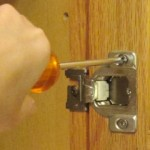 Changing Cabient Door Hinges