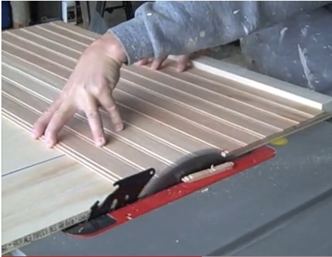 Cutting Board For Cabinet Doors On A Table Saw